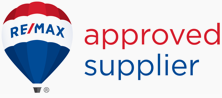 RE/MAX approved supplier badge